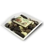 Slagroom Bonbons Assortiment Middel met Chocolade Kerstkaart