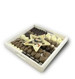 Slagroom Bonbons Assortiment Kingsize met Chocolade kerstster