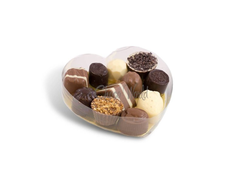 Slagroom Bonbons in Hartvorm Klein