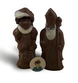Sint en Piet met foto