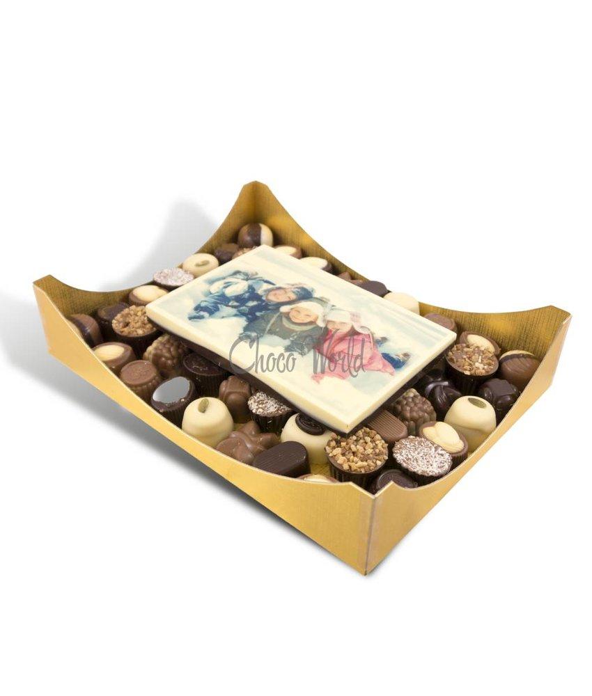 Bonbons Assorti Groot met Kaart Foto/Logo