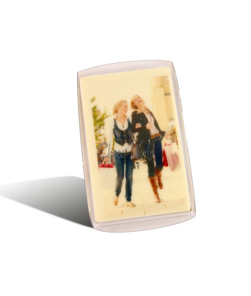Visitekaartjes Melk Wit Foto/Logo