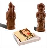 Sinterklaas, Piet en kaart met foto
