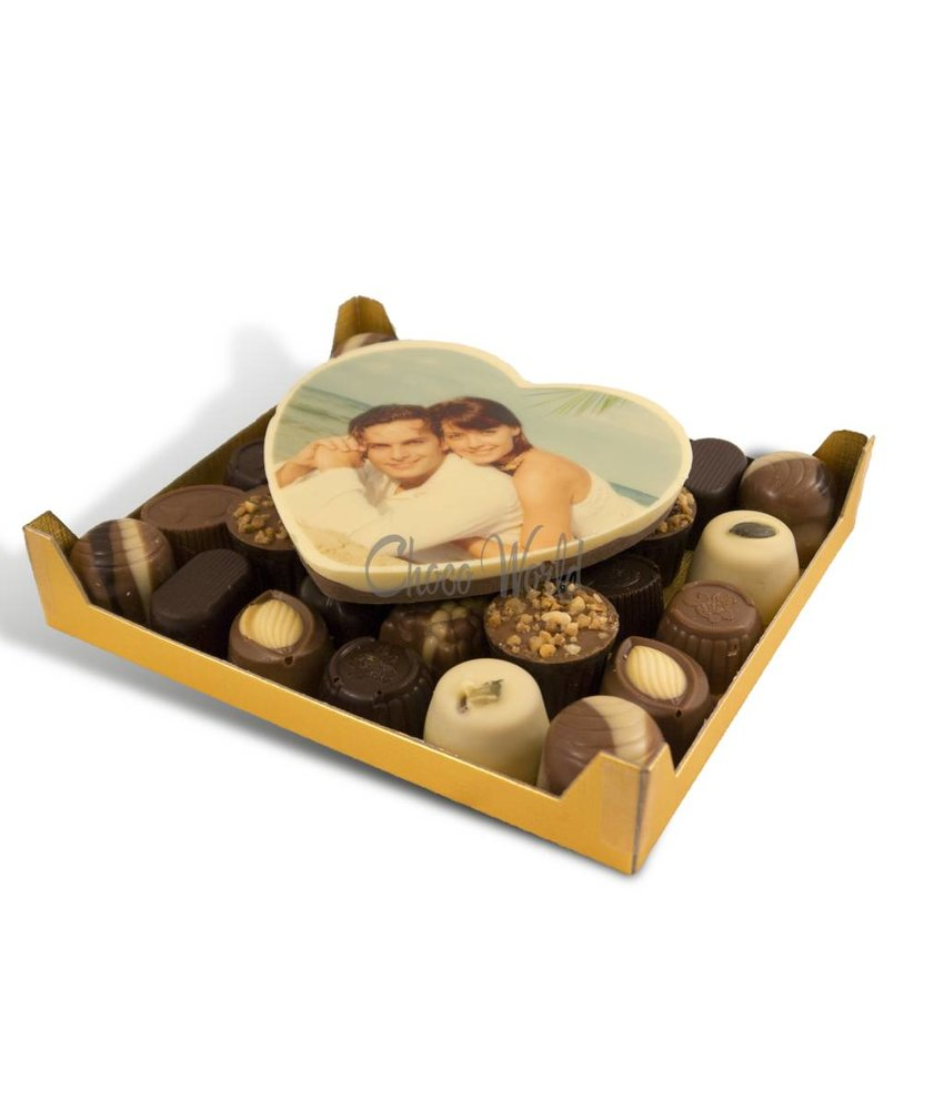 Bonbons Assorti Klein met Hart Foto/Logo