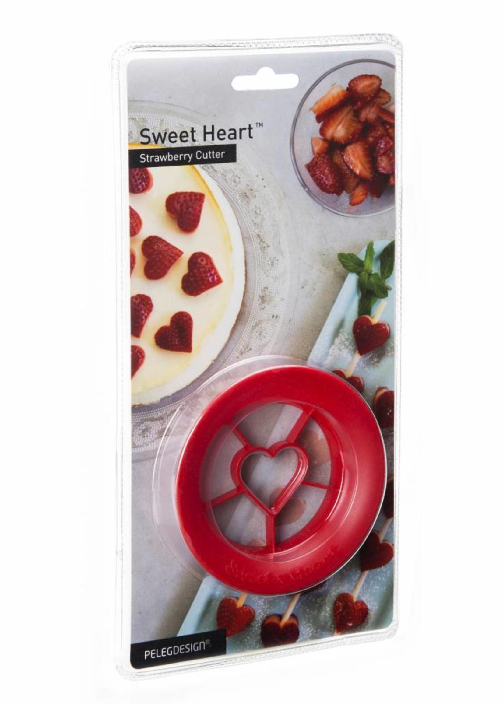 Peleg Design Sweet Heart strawberry cutter