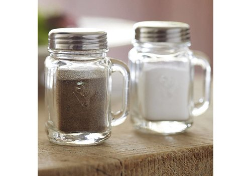 Kikkerland Salt And Pepper Mason Jars