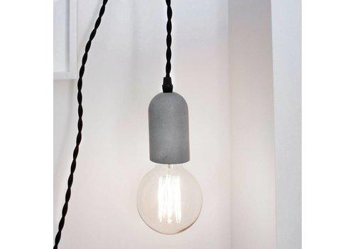 Kikkerland Concrete Pendant Lamp