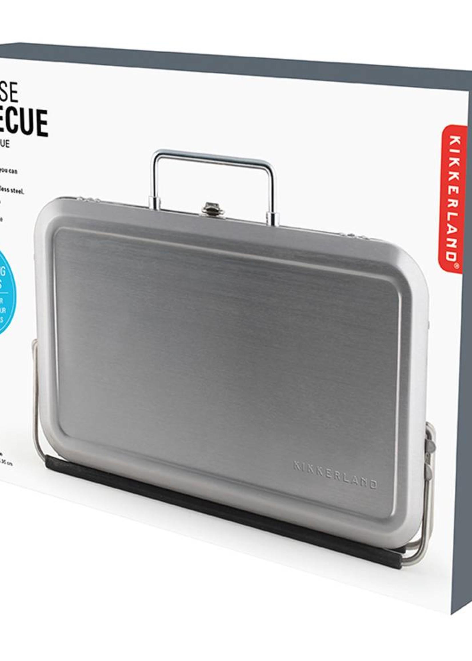 Kikkerland Portable BBQ Suitcase