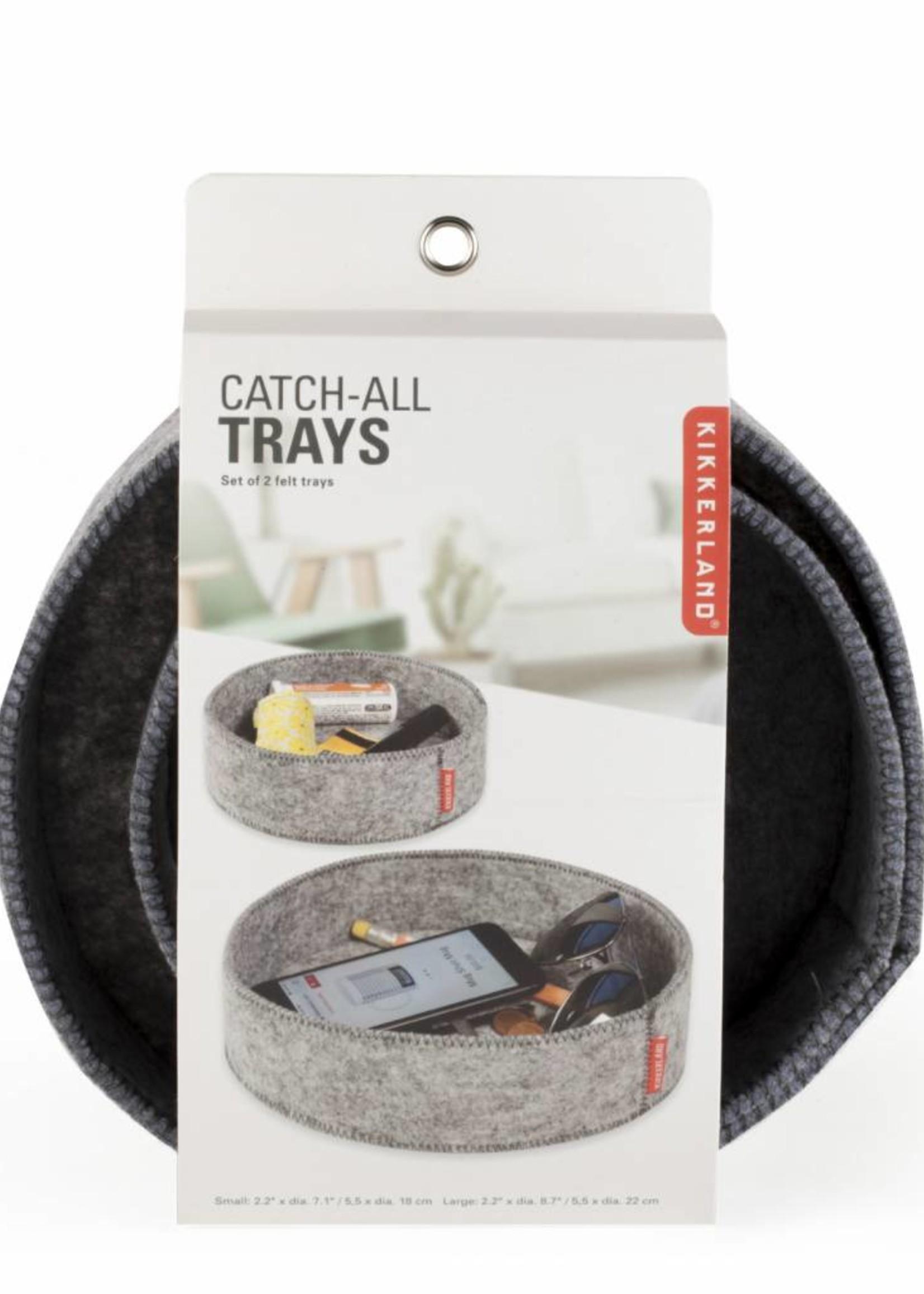 Kikkerland Catch-All Trays