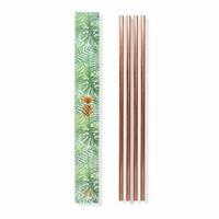 Set of 4 Metal Straws