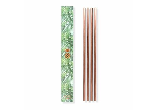 W&P Set of 4 Metal Straws