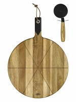 Gentlemen's Hardware Pizza cutter & serving board