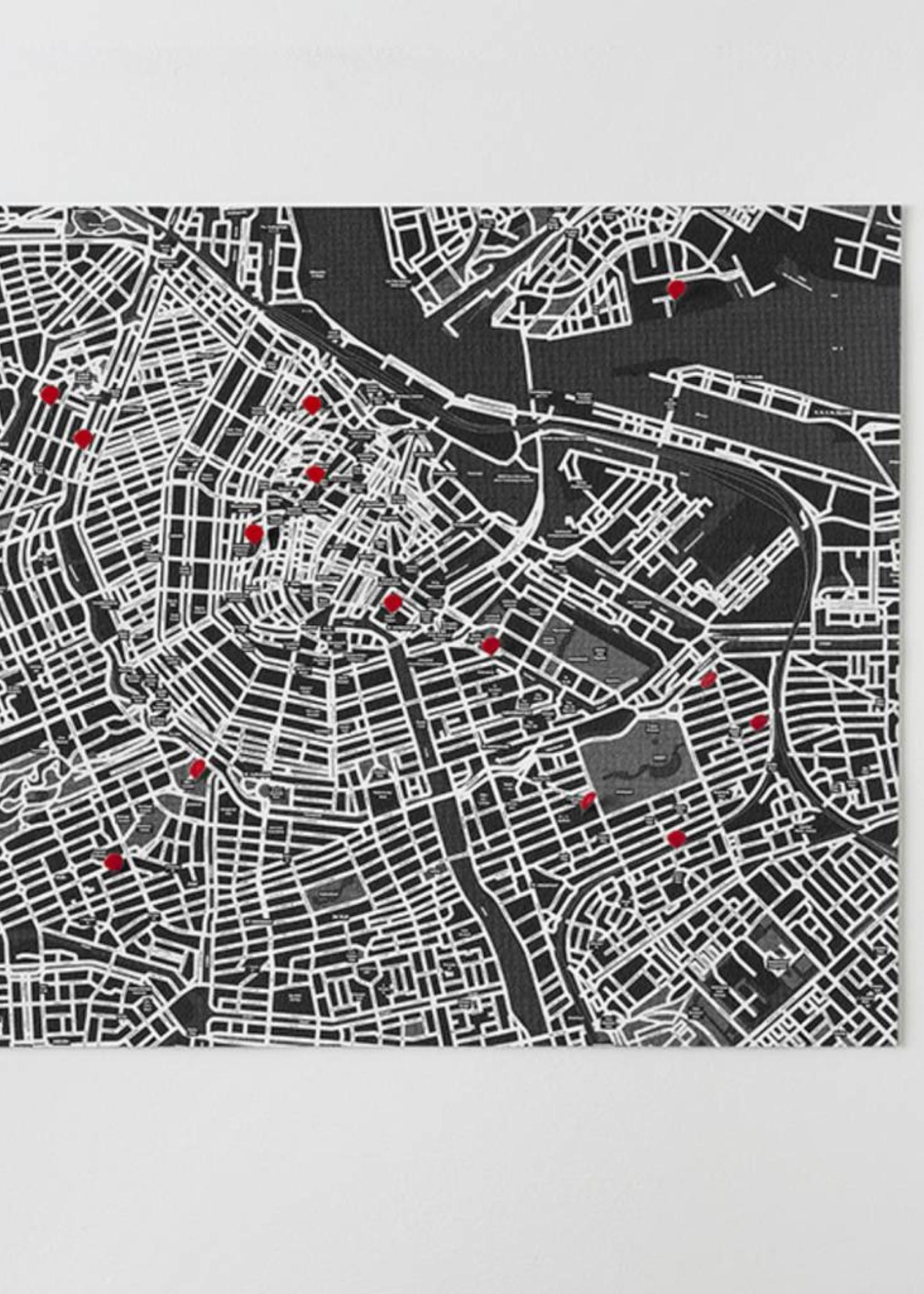 Palomar Pin City Wall Map
