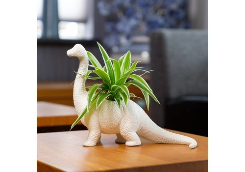 Bitten Dinosaurus bloempot