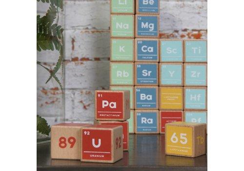 Jay Periodiek systeem houten blokken (set van 121)