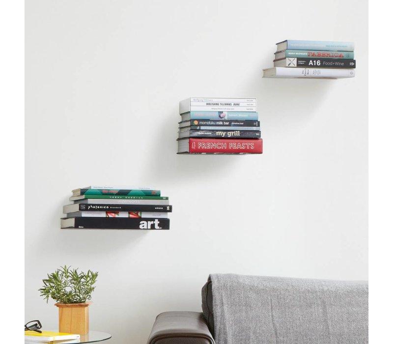 Zwevende boekenplank (set van 3)