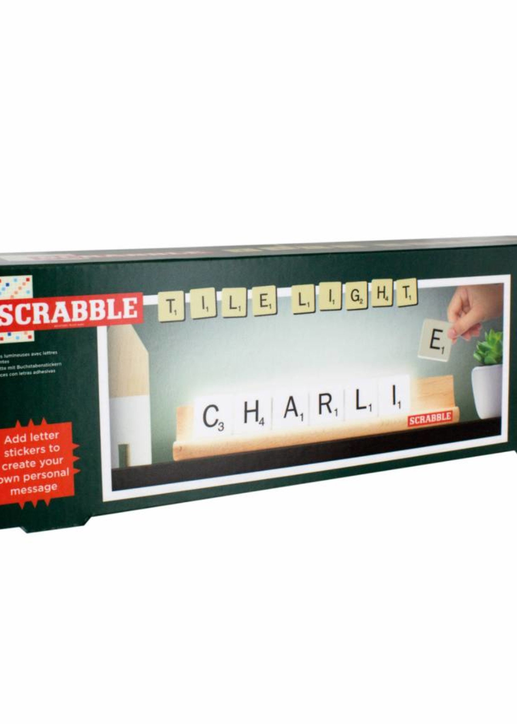 Scrabble Scrabble Tile Light