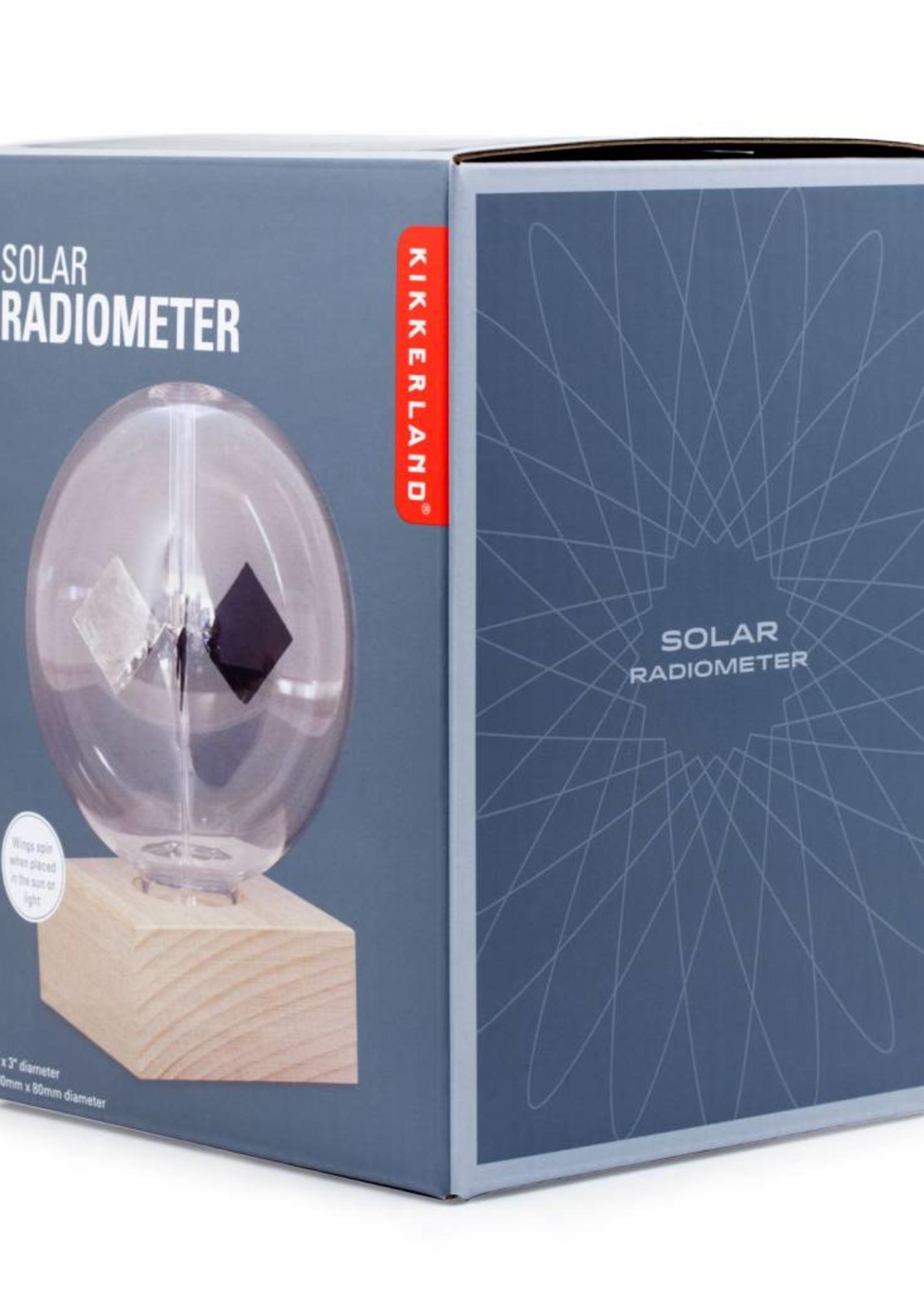 Kikkerland Radiometer op zonne-energie