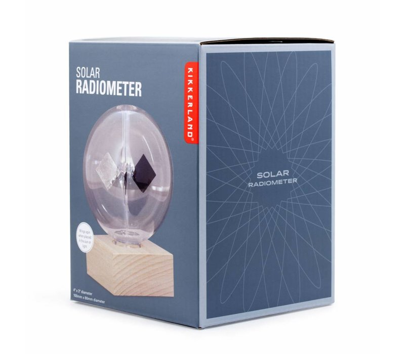 Radiometer op zonne-energie