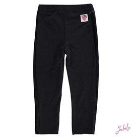 Jubel Jubel 922.00197  legging zwart lederlook jersey