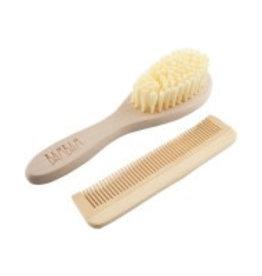 BamBam BAMBAM houten haarborstel set