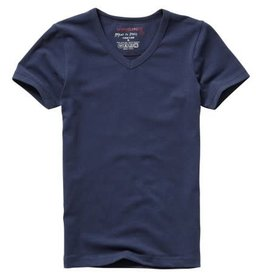 Vingino Vingino Short Sleeve  V -Neck Boys blauw