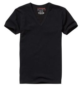 Vingino Vingino Short Sleeve  V -Neck Boys zwart