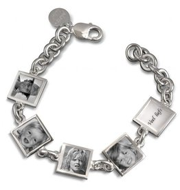 Photo-Label Photo-Label zilver armband Paris