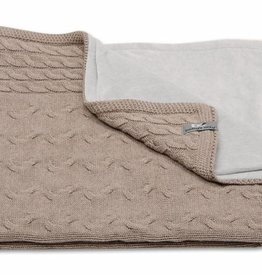 Babys only Baby's only Cable taupe chenille wieg/ledikantdeken