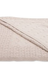 Babys only Baby's only Cable beige omslagdoek/badcape