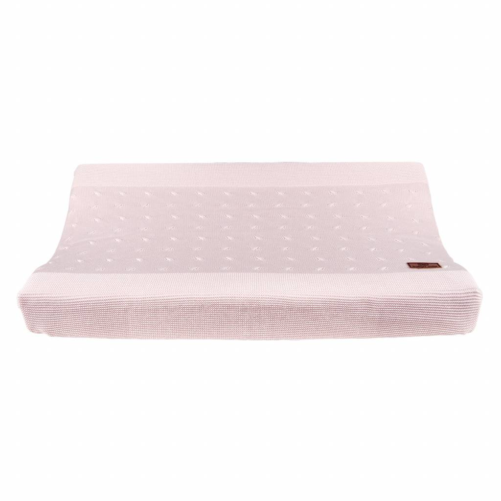 Babys only Baby's only cable Aankleedkussenhoes classic roze