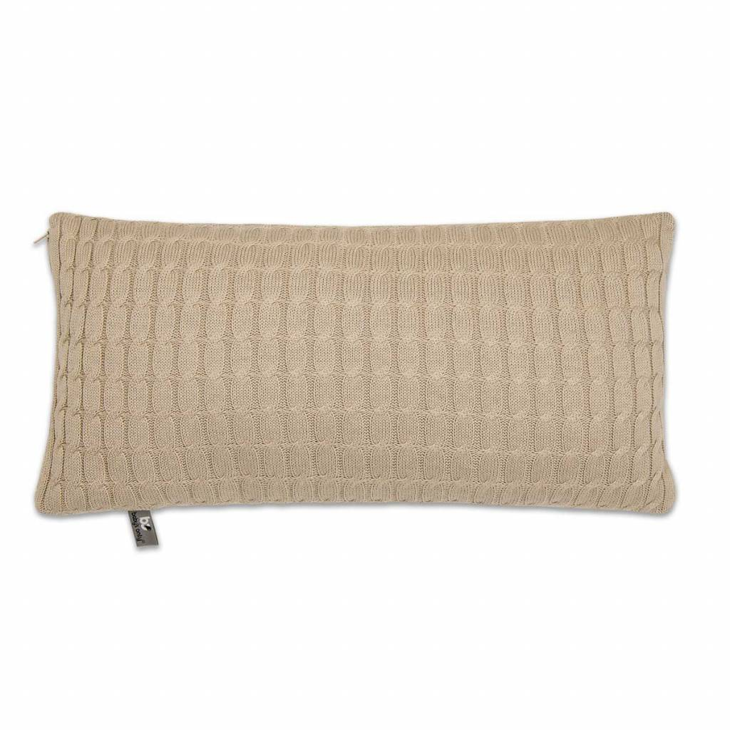 Babys only Baby's only cable kussen 60 beige