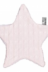 Babys only Baby's only cable knuffeldoekje ster classic roze