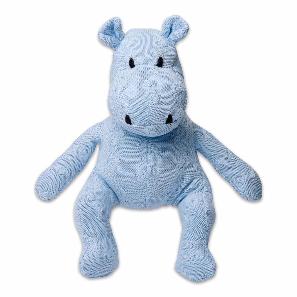 Babys only Baby's only Cable Nijlpaard baby blauw