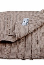 Babys only Baby's only cable spuugdoek taupe 50x15 cm