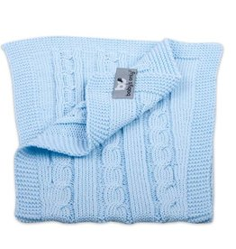 Babys only Baby's only  cable spuugdoek baby blauw 50x15 cm