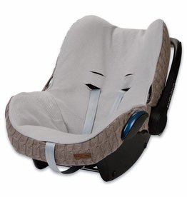 Babys only Baby's only cable hoes autostoeltje 0+ taupe