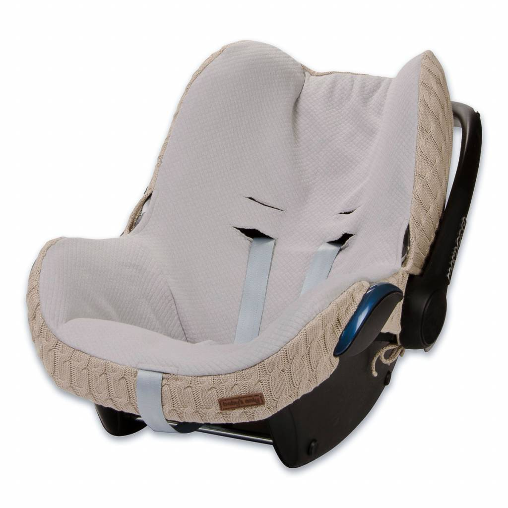 Babys only Baby's only cable hoes autostoeltje 0+ beige