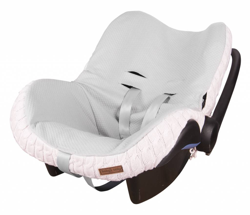 Babys only Baby's only cable hoes autostoeltje 0+ classic roze