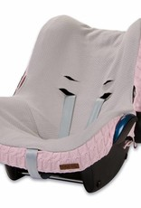 Babys only Baby's only cable hoes autostoeltje 0+ baby roze