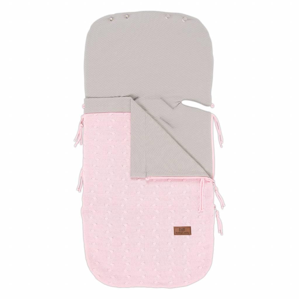 Babys only Baby's only zomer voetenzak baby roze autostoeltje 0+