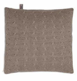Babys only Baby's only cable kussen 40 taupe
