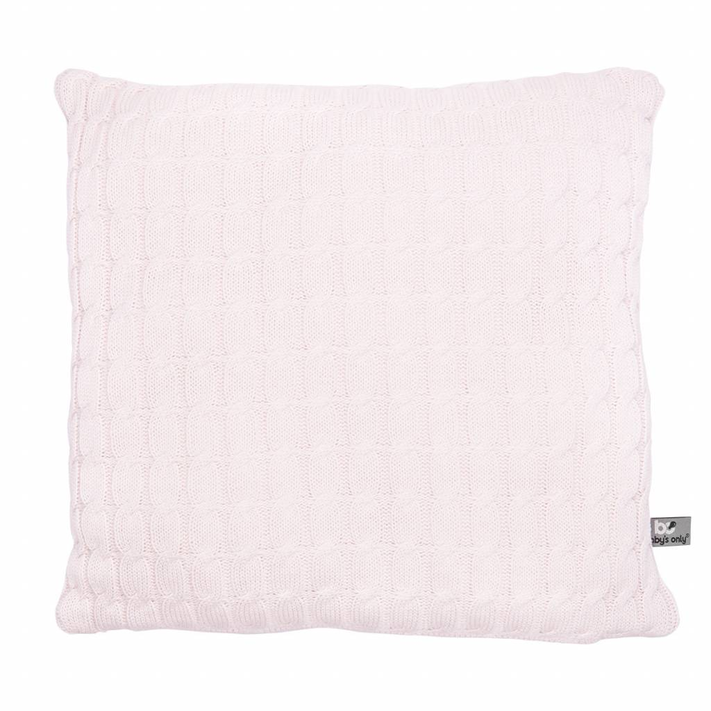 Babys only Baby's only cable kussen 40 classic roze