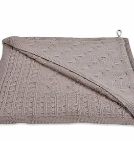 Babys only Baby's only Cable taupe omslagdoek/badcape
