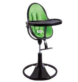 Bloom Bloom Kinderstoel Fresco Chrome frame zwart  incl starterkit/Gala Green Pack