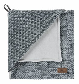 Babys only Baby's only River Omslagdoek chenille 75x85cm grey melee