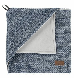 Babys only Baby's only River Omslagdoek chenille 75x85cm Jeans
