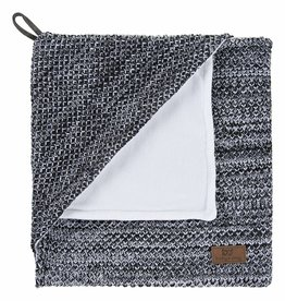 Babys only Baby's only River Omslagdoek chenille 75x85cm zwart