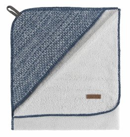 Babys only Baby's only River Badcape xl  100x100cm badstof jeans