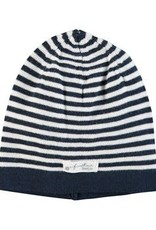 Feetje Feetje 531.00082 First knit mutsje blauw/ wit streep